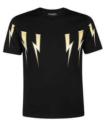 Neil Barrett PBJT782S P538S GOLD BOLT T-shirt